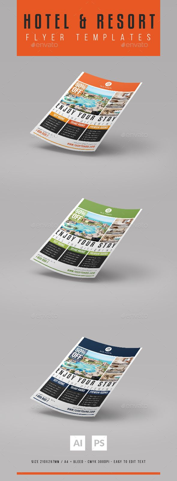 64 best Hotel Banners / Print Template / PSD images on Pinterest ...