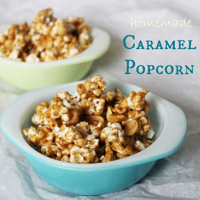 Homemade Caramel Popcorn: Loulou DowntownSweets Things, Recipe Foodies Ideas, Favourite Things
