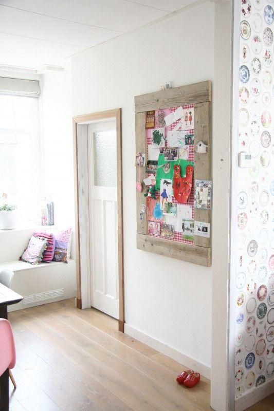 Prikbord groot (L) roze | Prikborden | Label123