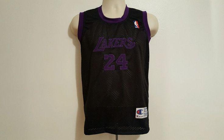 RARE Los Angeles Lakers USA # 24 Bryant Basketball NBA Small Champion Jersey #Champion #LosAngelesLakers