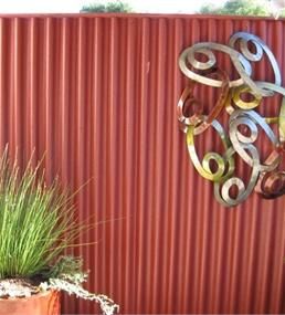 Ondura 6 Ft 7 In Red Corrugated Cellulose Fiber/Asphalt Roof Panel Lowes