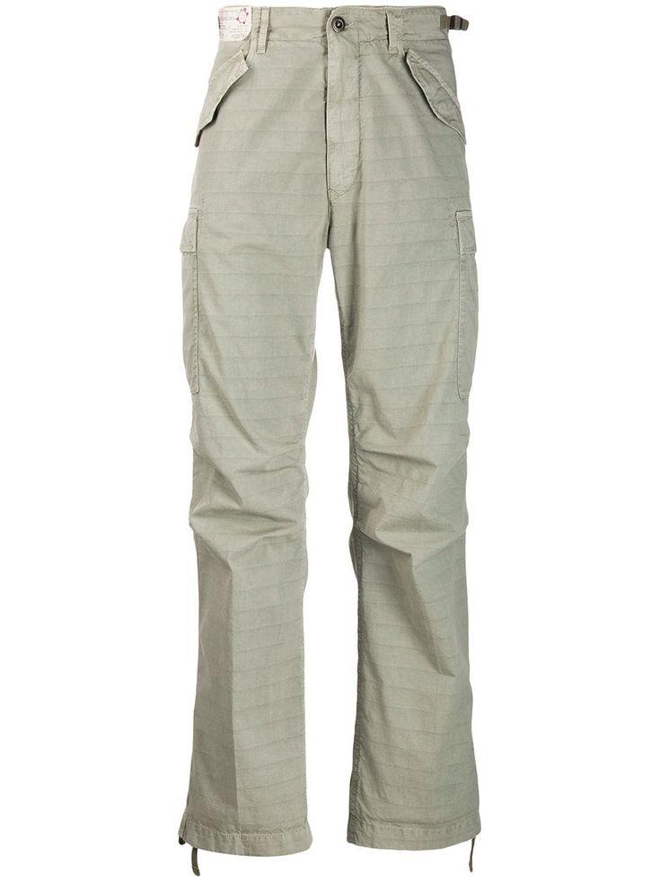 INCOTEX INCOTEX CLASSIC CARGO TROUSERS – GREEN. #incotex #cloth