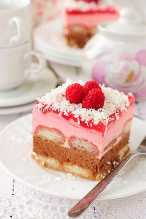 Шоколадно-малиновый торт с Савоярди. Обсуждение на LiveInternet - Российский Сервис Онлайн-Дневников