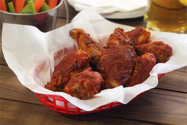 Crockpot Paleo BBQ Chicken Wings #justeatrealfood #paleonewbie