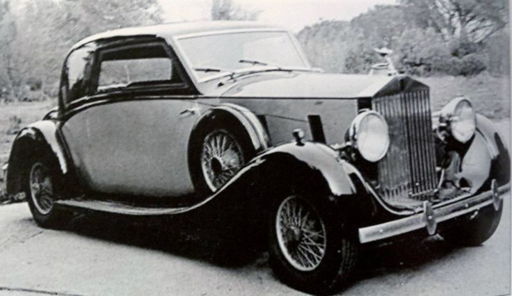 Fixed-head Coupé by De Villars (chassis WXA12) for Gaby Morlay