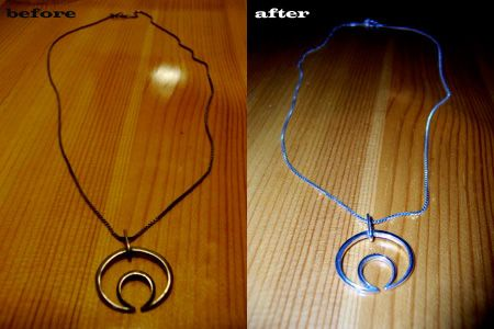 DIY Silver cleaning! Tarnish gone with just boiling water and baking soda!