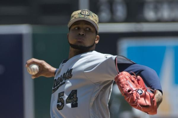 """SAN FRANCISCO — Four-hit shutout or three-run double? Minnesota Twins right-hander Ervin Santana was asked to choose his favorite personal highlight Friday night.  Turns out, it was a no-brainer.  """"Double,"""" the veteran blurted out with a smile after he'd almost... - #Ervin, #Hits, #Minnesota, #Pitches, #Santana, #TopStories, #Twins"""
