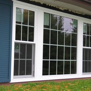 New Picture Window With Double Hung Flankers Ideas For