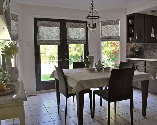 I Like This Idea For Covering Patio Doors And Windows In The Same Room. You