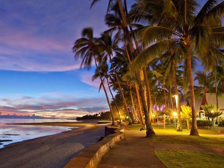 Beautiful sunset at Fiji Hideaway Resort & Spa  www.islandescapes.com.au