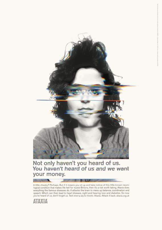 Distorted reality: campaign raises awareness of living with Atraxia | Desktop