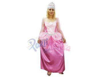 Prenses Kostümü Yetişkin