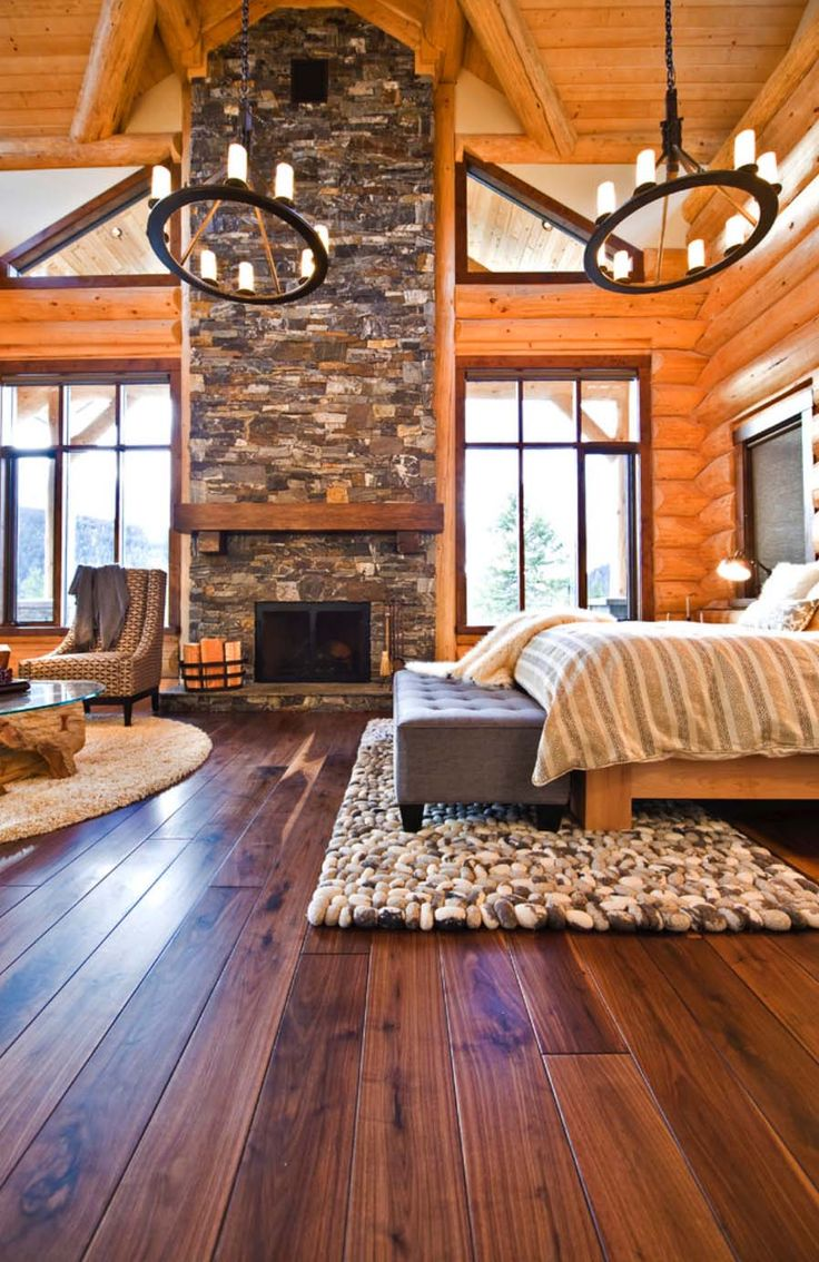 Best Alpine Home Images On Pinterest Log Homes Cabin Homes - Beautiful rustic interior design 35 pictures of bedrooms