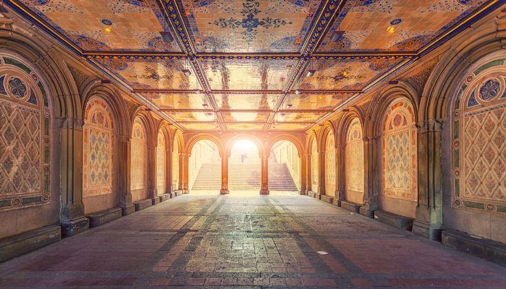 Bethesda Arcade by Zsolt Hlinka on 500px