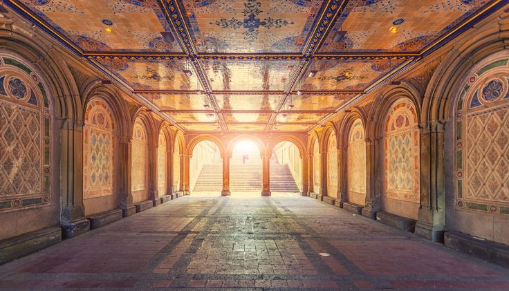 Bethesda Arcade by Zsolt Hlinka on 500px