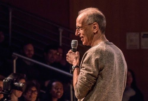 "PERSON PLACE THING With Randy Cohen In Association with Tribeca PAC Featuring Guest Jack Kleinsinger   Friday October 20th at 7 p.m.Tickets  The BMCC Tribeca Performing Arts Centeris proud to partner with host Randy Cohen for his ""Person Place Thing"" podc"