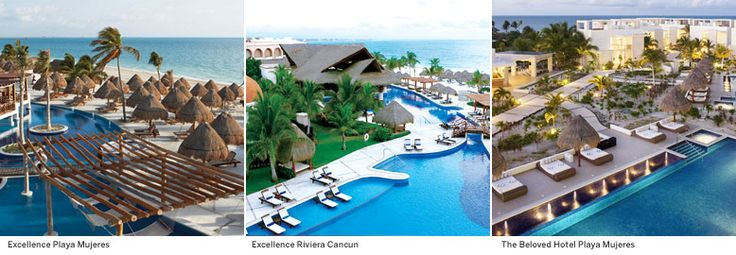 7 best finest playa mujeres by excellence group images on for Spa vacations for couples
