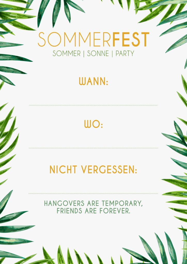 Alles Fur Dein Nachstes Unvergessliches Sommerfest Sommerfest Einladung Sommerfest Sommer Party Einladungen