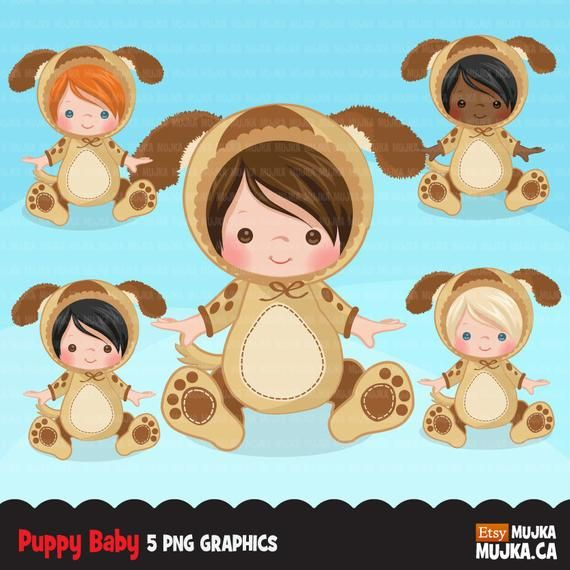 Baby Puppy Dog Clipart Halloween Costume Baby Shower Graphics Card Making Birthday Party Black Baby Cute In 2021 Clip Art Animal Halloween Costumes Animal Costumes