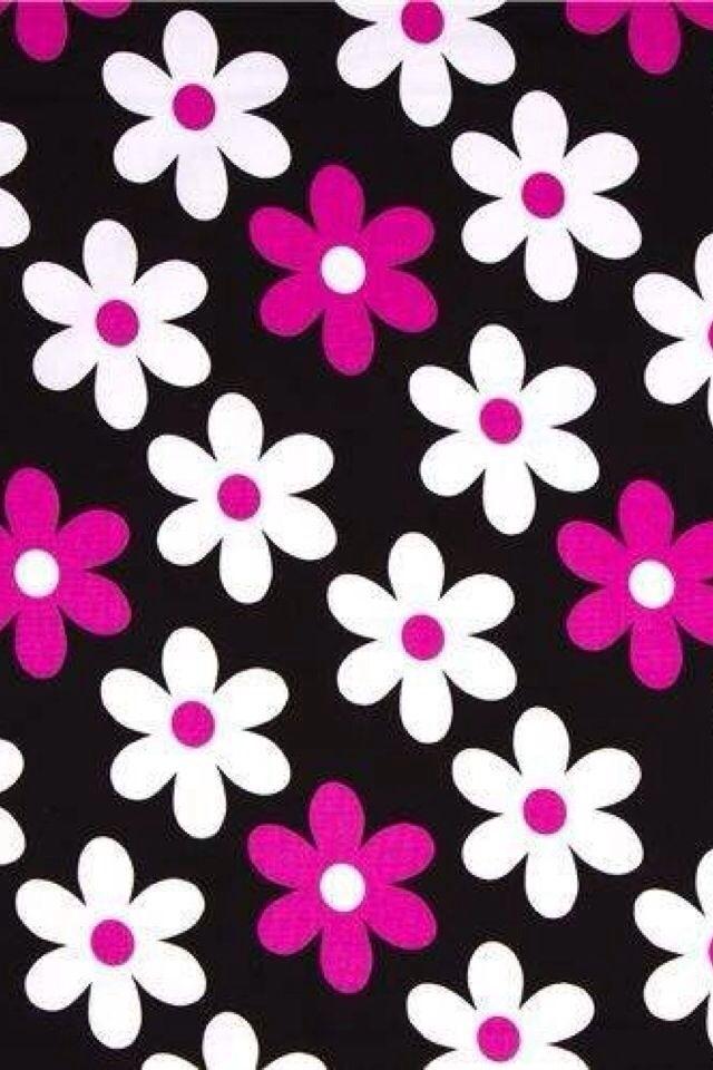 Negro blanco y rosa