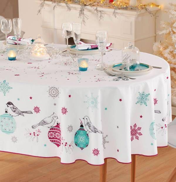 Linge de table Noël enchanté