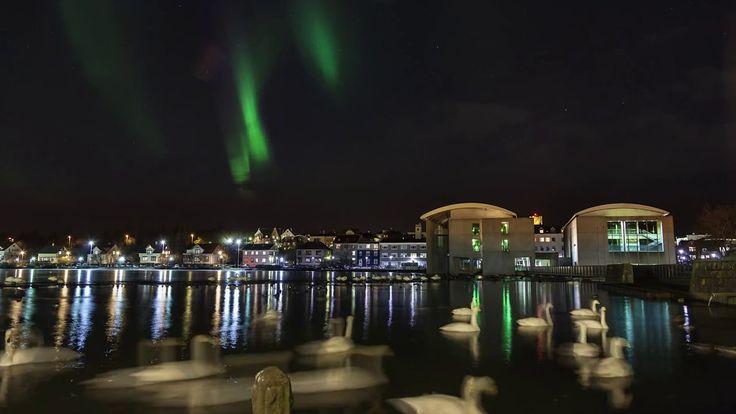Сияние Исландии #aurora #Iceland