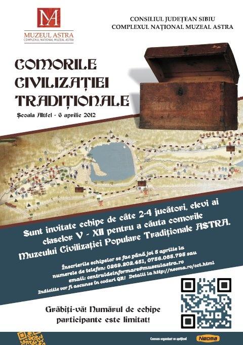 Concurs Comoara Civilizatiei Traditionale - Scoala Altfel