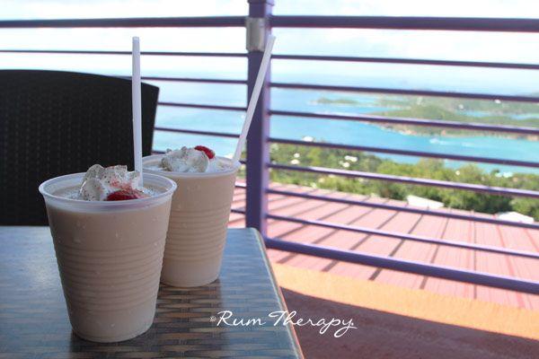 Bushwacker ~ coconut rum, vodka, Bailey's, Kahlua, amaretto, cream of coconut, chocolate syrup ~ Copycat