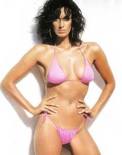 90's greek model Noni Dounia