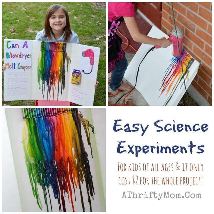 The 25+ best Easy science fair projects ideas on Pinterest | Easy ...