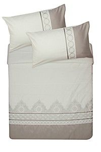 100% COTTON EMBROIDERED DUVET COVER SET