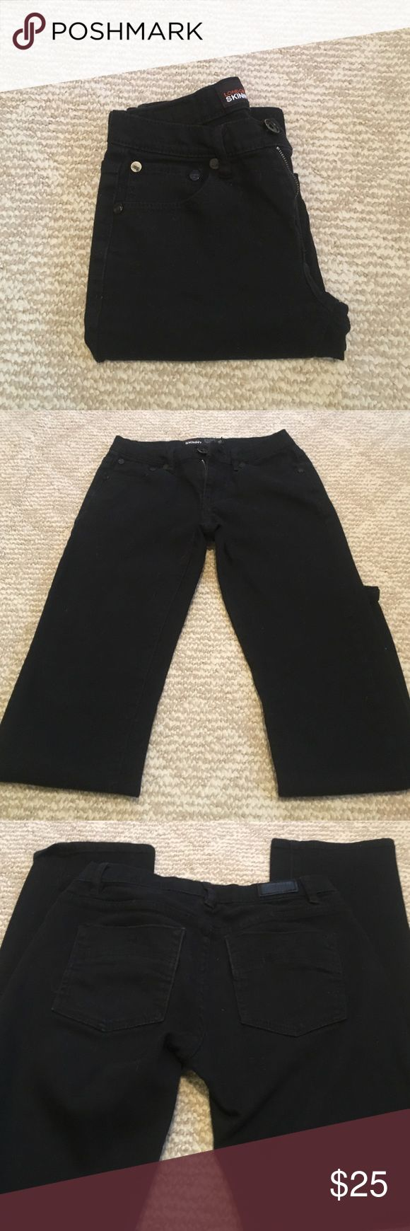 RSQ London Skinny Jeans Great condition, not faded, it's just hard to photograph black. Like new. rsq Bottoms Jeans