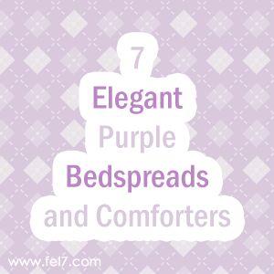 7 Elegant Purple Bedspreads and Comforters