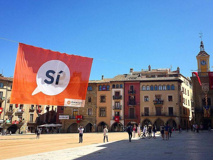 VIC Resum d'un cap de setmana d'onze de setembre viscut a la osonenca #ladiadadelsí. #bonanit