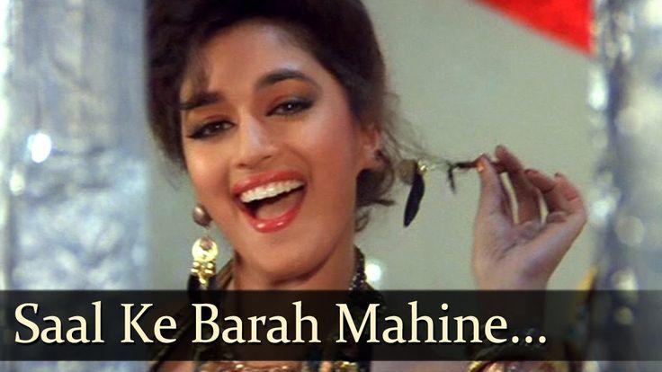 Saal Ke Baarah Mahine - Madhuri Dixit Hit Songs - Kumar Gaurav - Phool -...