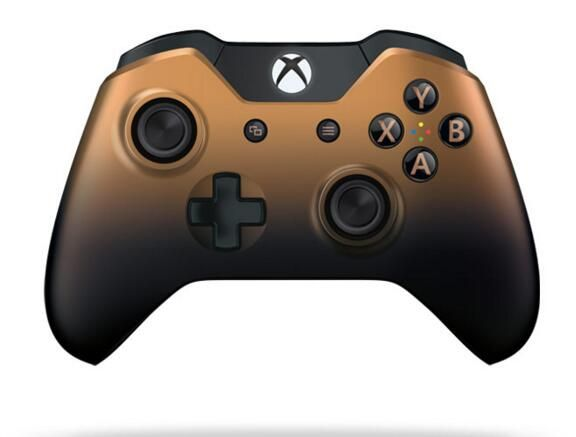 Original brand new Xbox One Special Edition Copper Shadow Cover controller shell for XBOX ONE controller