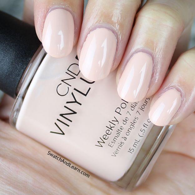 CND Vinylux Skin Tease Swatch