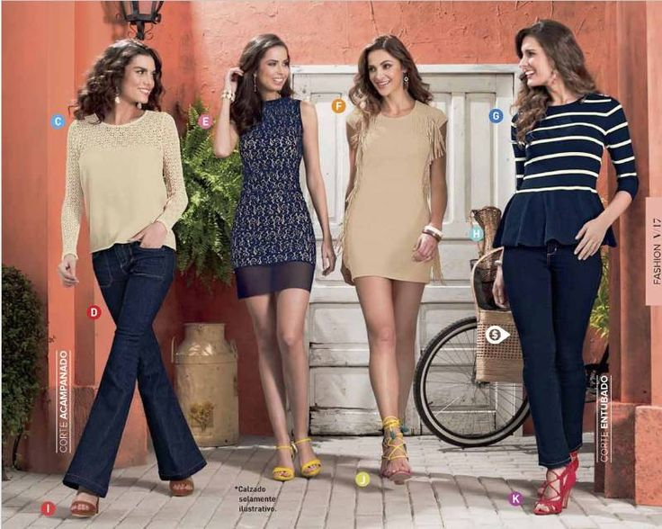 Las 25 mejores ideas sobre ropa casual de mujeres en for Moderna catalogo