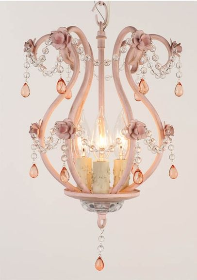 43 best nursery chandeliers images on pinterest chandeliers mimi antique pink chandelier aloadofball Images