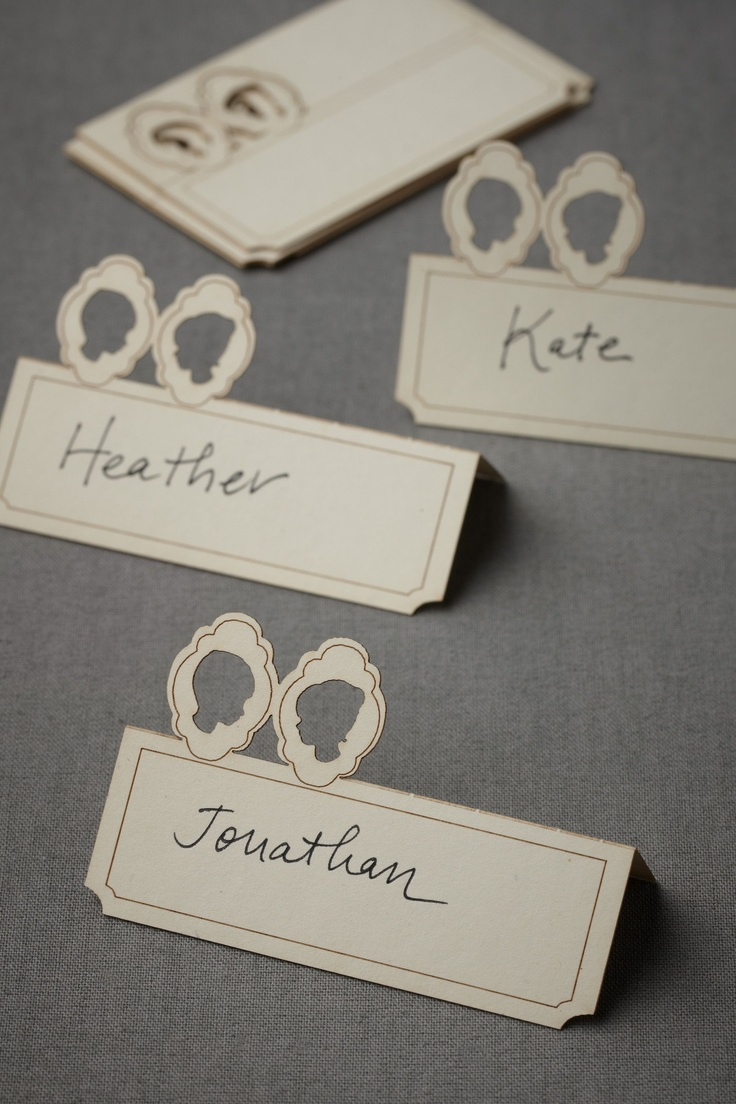 Lad   Lass Place Cards (10) from BHLDN