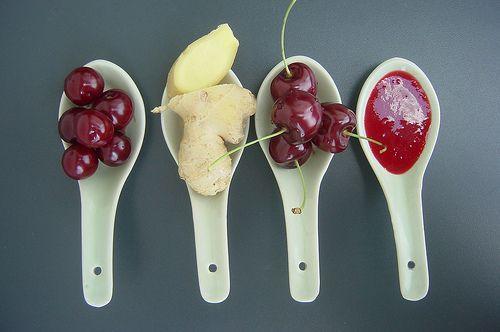 nyárikonyha: Gyömbéres cseresznye-meggy-ribizli dzsem