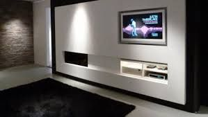 Afbeeldingsresultaat voor tv wand ideeën design