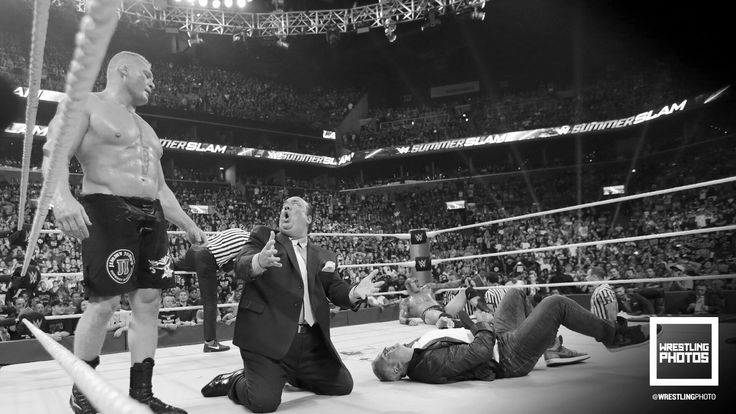 Summer Slam 8/21/16 Brock Lesnar vs. Randy Orton
