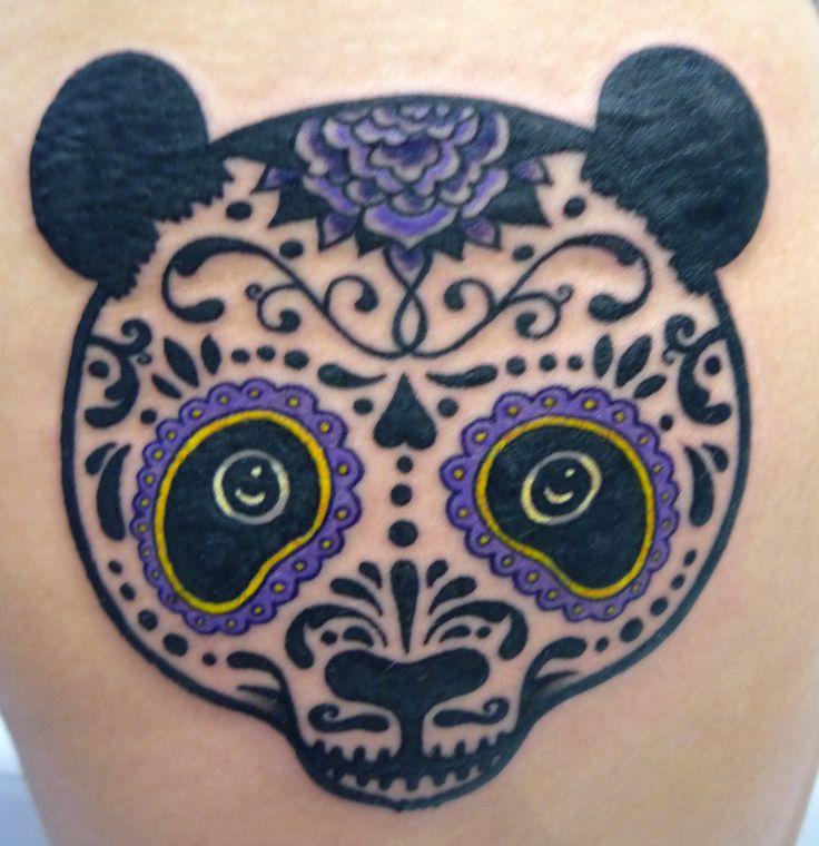 Animal sugar skull tattoo - photo#40