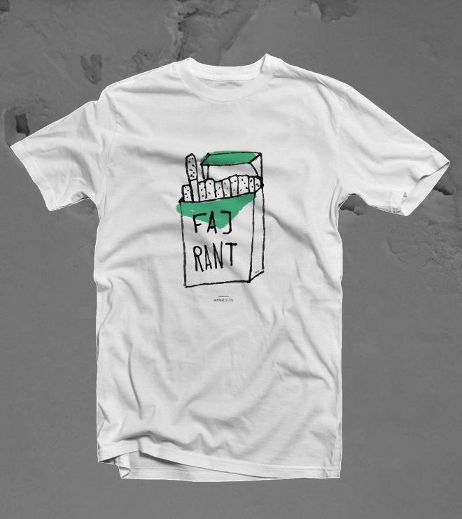 FAJRANT - koszulka z brzydkim nadrukiem
