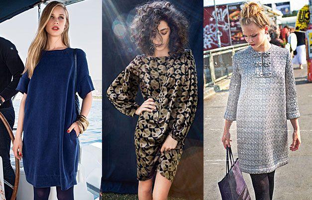 Универсальное платье свободного кроя #burdastyle #burda #мода #fashion
