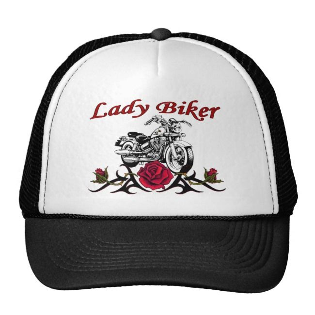 Lady Biker Cap