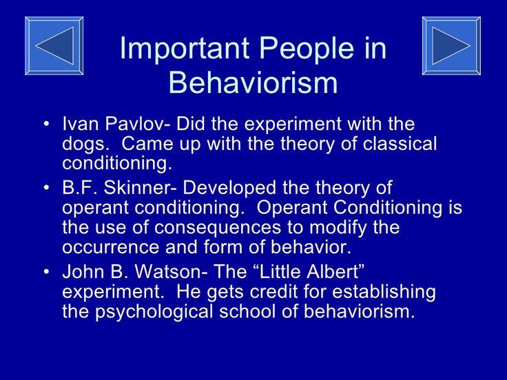 13 best Behaviorism images on Pinterest Psychology, Behavior and