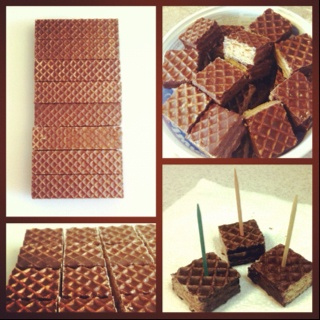 Nutty Bars = party snack!