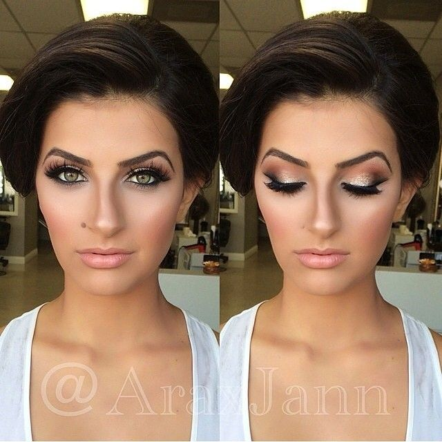 Ideal Bridal Makeup : Best 25+ Wedding makeup brunette ideas on Pinterest